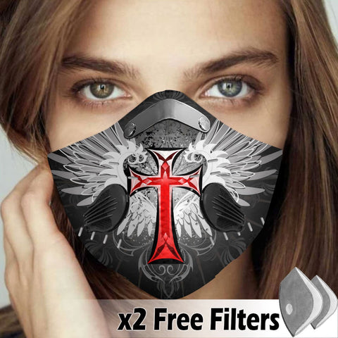 Activated Carbon Filter PM2.5 - Christian Mask 32