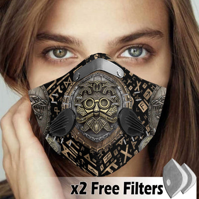 Viking Velcro Mask 033