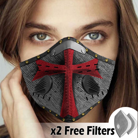 Activated Carbon Filter PM2.5 - Christian Mask 023