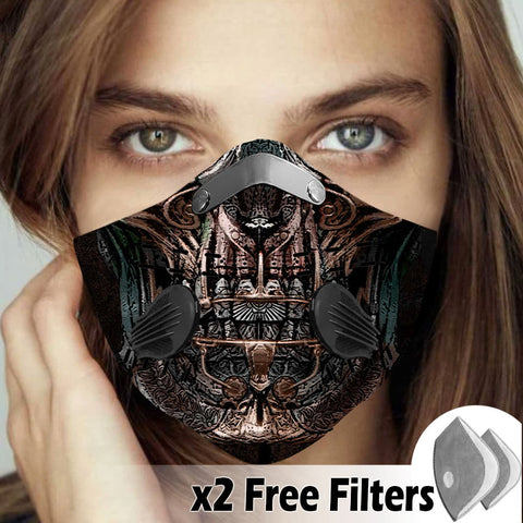 Activated Carbon Filter PM2.5 - Skull Mask 16