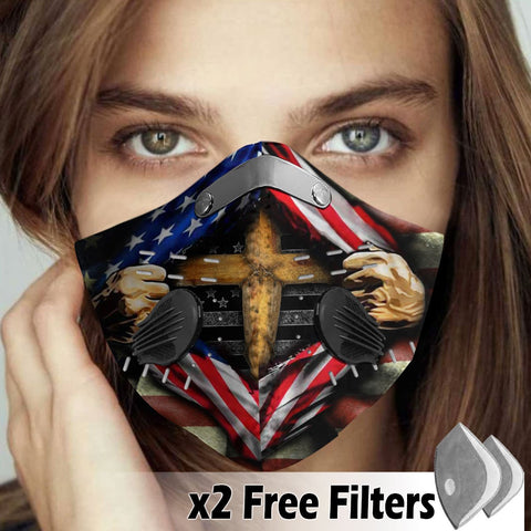Activated Carbon Filter PM2.5 - Christian Mask 022