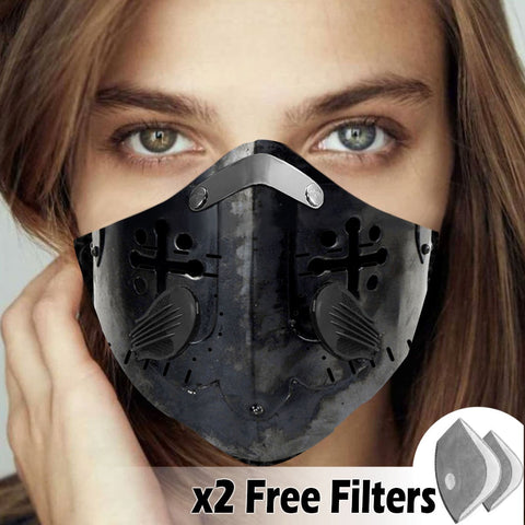 Activated Carbon Filter PM2.5 - Christian Mask 031