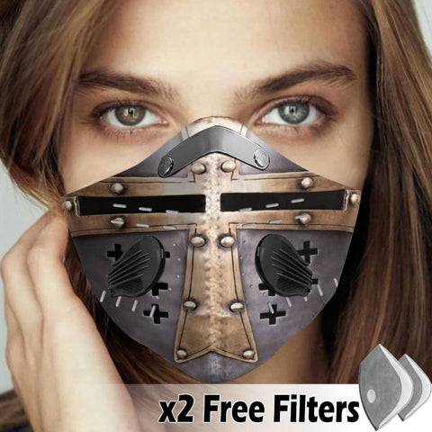 Activated Carbon Filter PM2.5 - Christian Mask 021