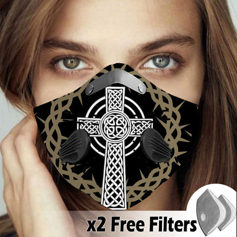 Activated Carbon Filter PM2.5 - Christian Mask 33