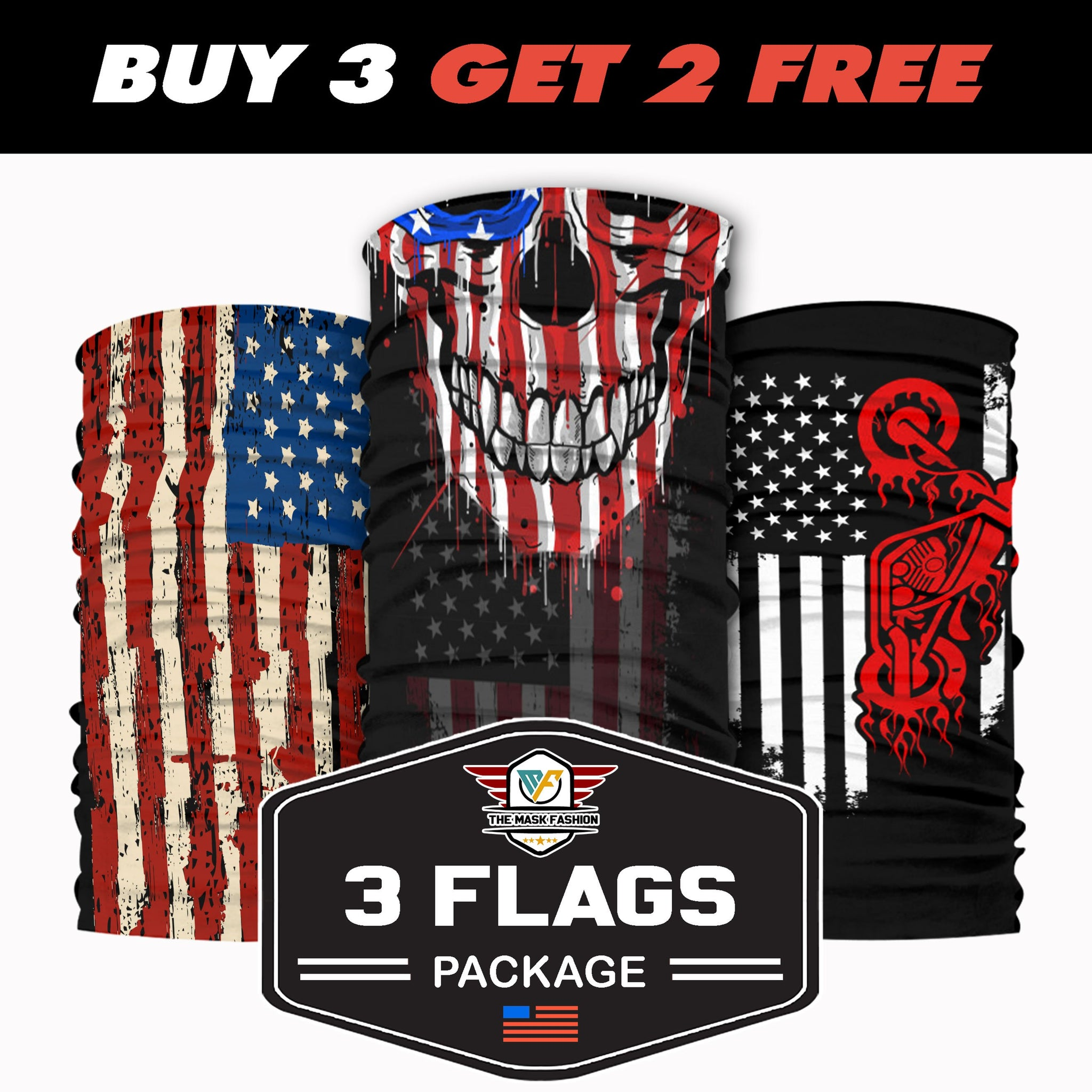 3-Flags Package 13