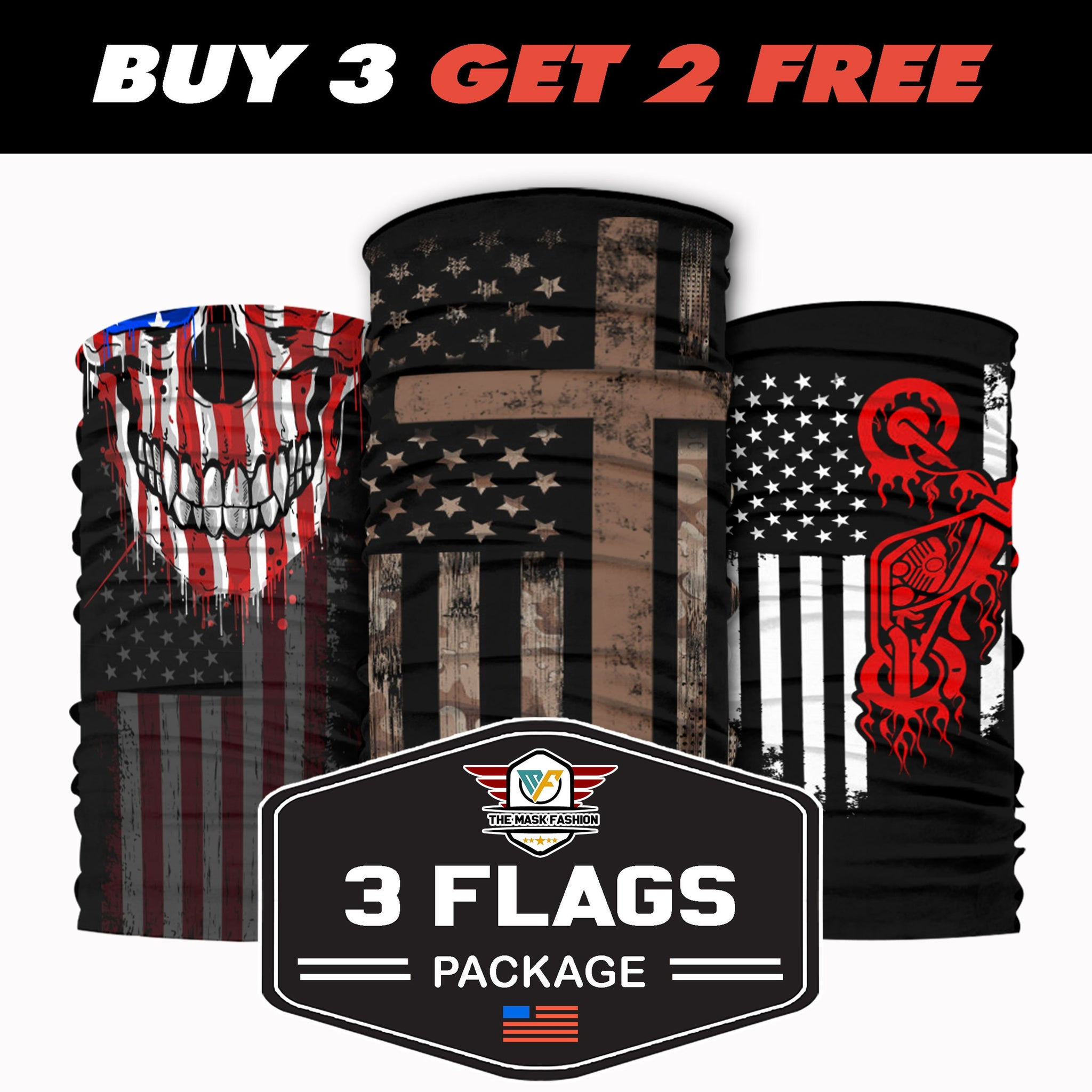 3-Flags Package 15