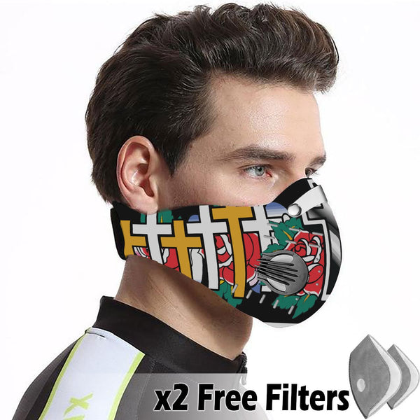 Activated Carbon Filter PM2.5 - Christian Mask 40