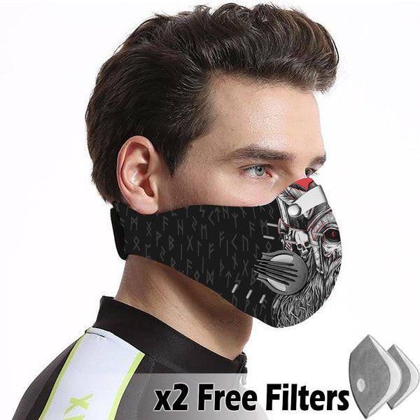 Activated Carbon Filter PM2.5 - Viking Mask 08