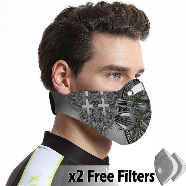 Christian Velcro Mask 050