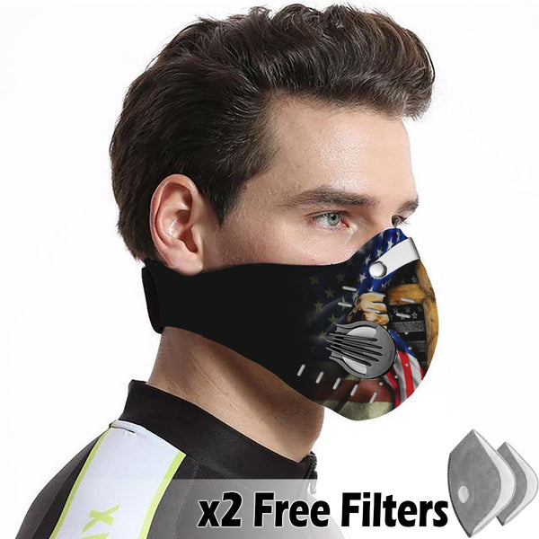 Christian Velcro Mask 022