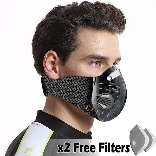 Christian Velcro Mask 031