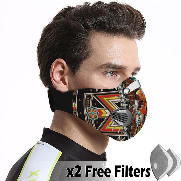 Native Velcro Mask 56