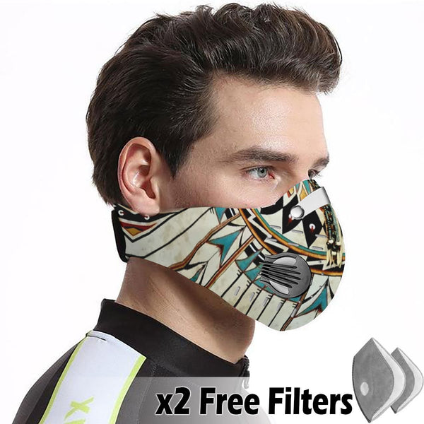 Native Velcro Mask 53