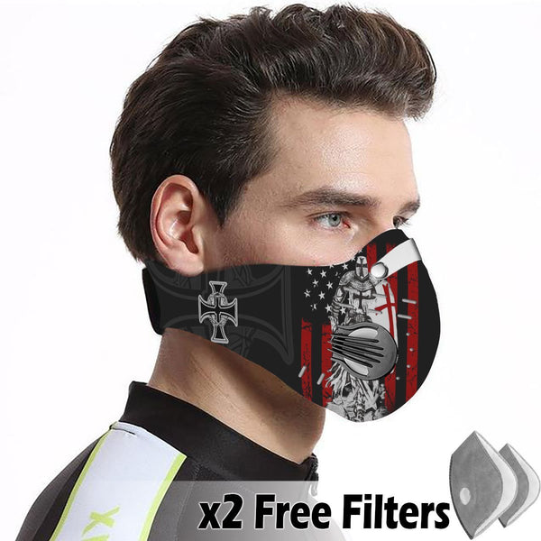 Activated Carbon Filter PM2.5 - Christian Mask 15