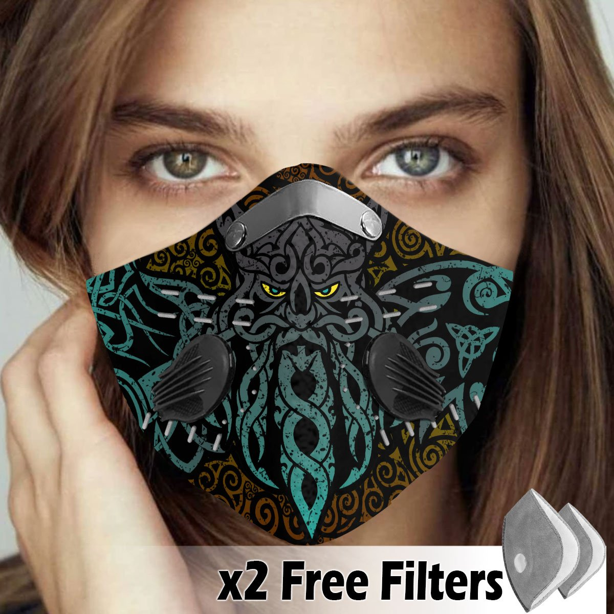 Viking Velcro Mask 057
