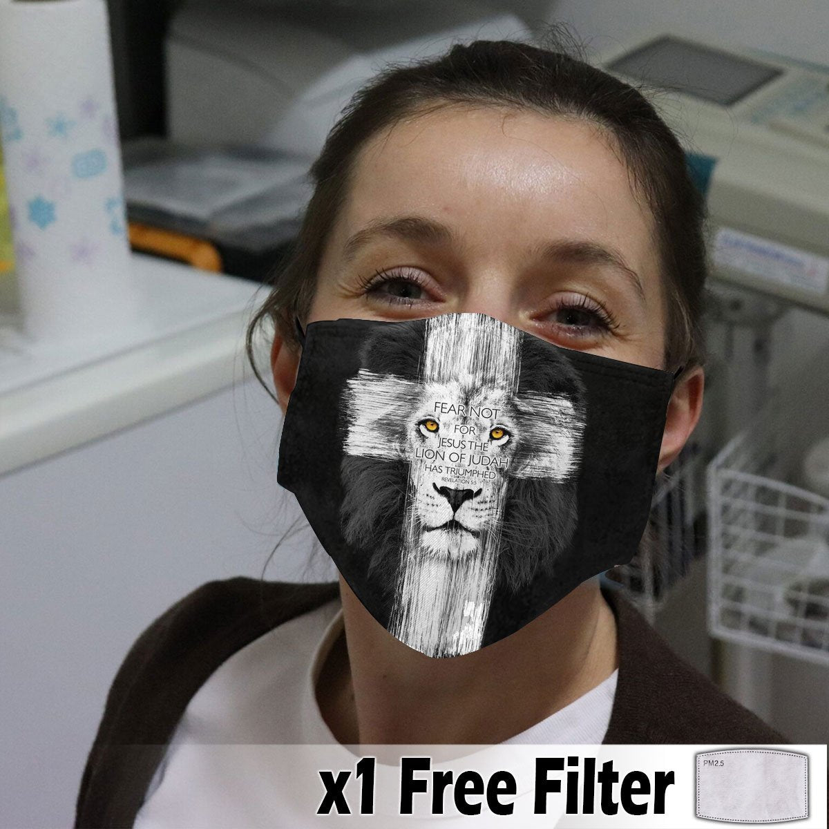 Activated Carbon Face Mask - Christian 05