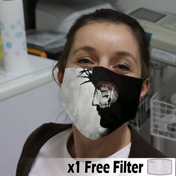 Activated Carbon Face Mask - Christian 06