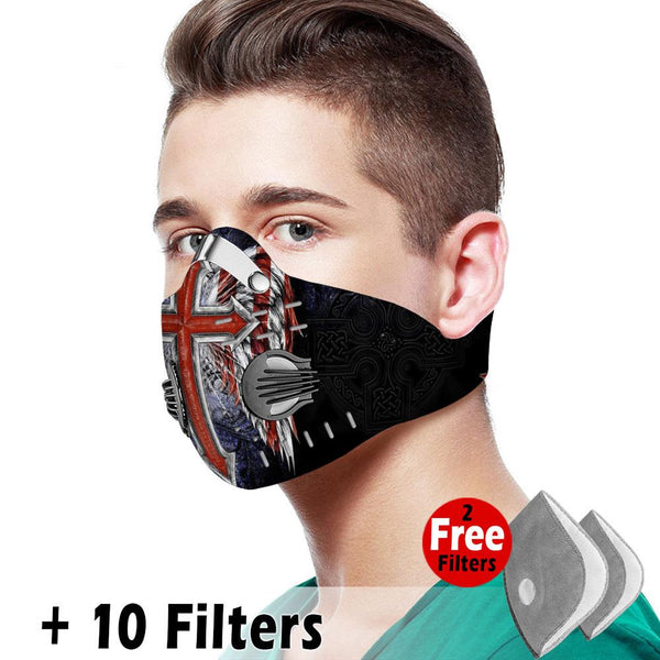 Activated Carbon Filter PM2.5 - Christian Mask 011