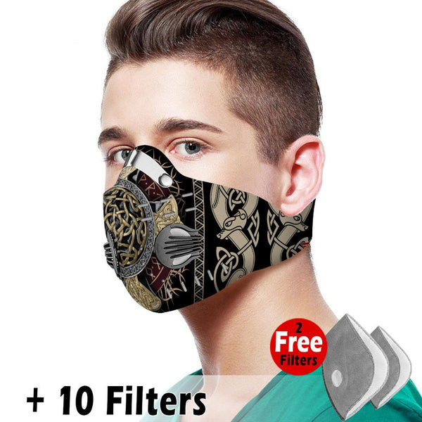 Viking Velcro Mask 059