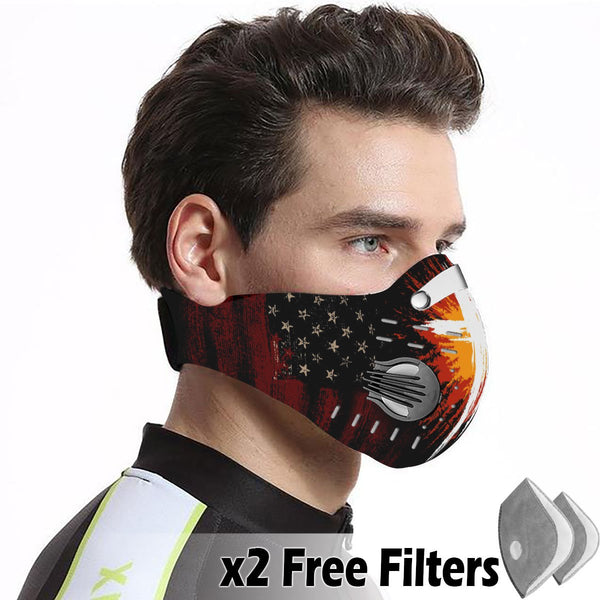 Christian Velcro Mask 063
