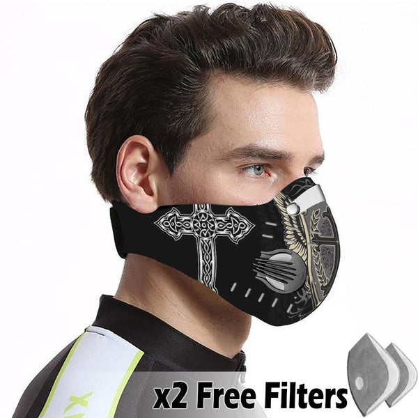 Activated Carbon Filter PM2.5 - Christian Mask 64