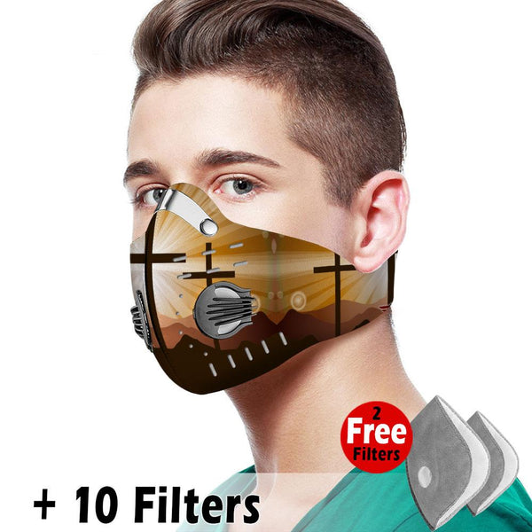 Christian Velcro Mask 065