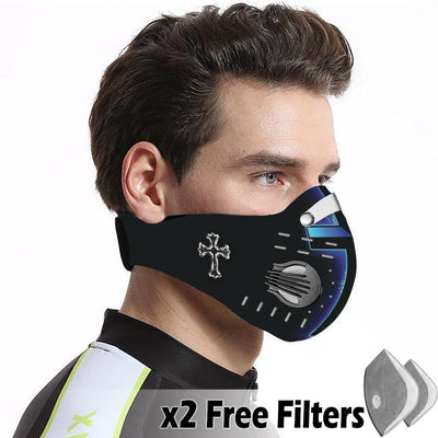 Christian Velcro Mask 066