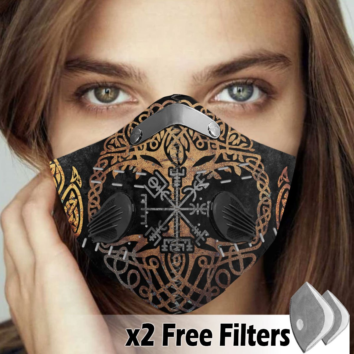 Viking Velcro Mask 069