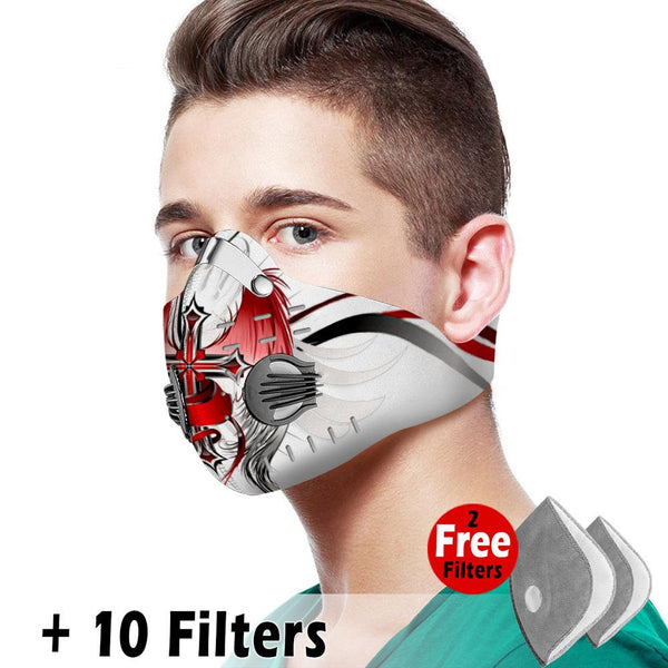 Christian Velcro Mask 077