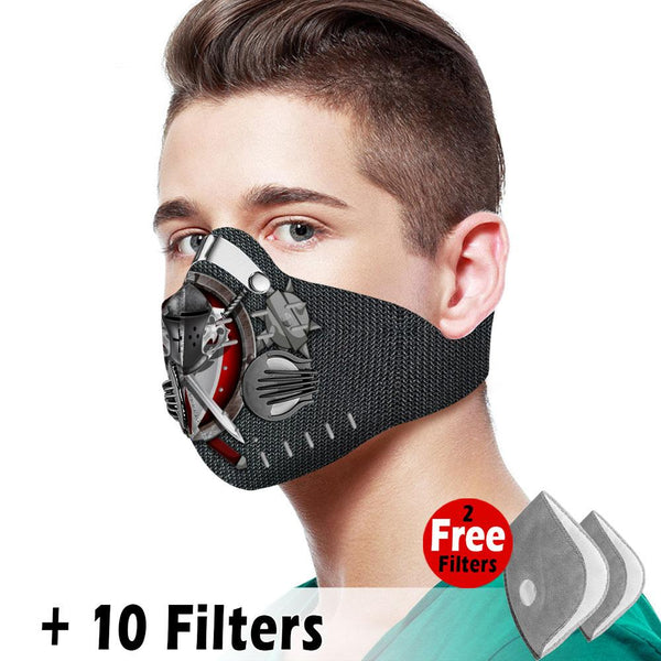 Christian Velcro Mask 080