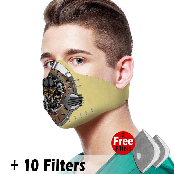 Viking Velcro Mask 085