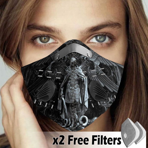 Christian Velcro Mask 085