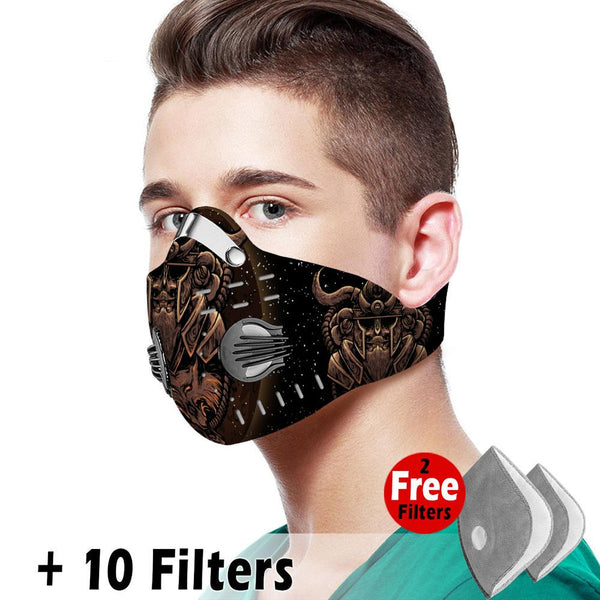 Viking Velcro Mask 092