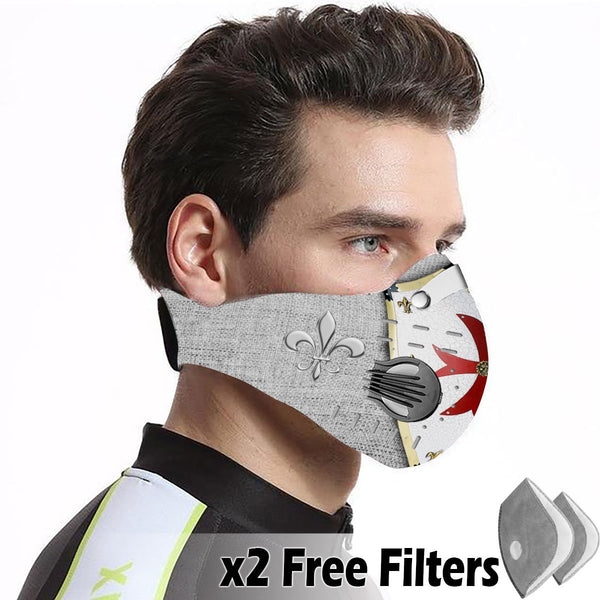 Activated Carbon Filter PM2.5 - Christian Mask 89