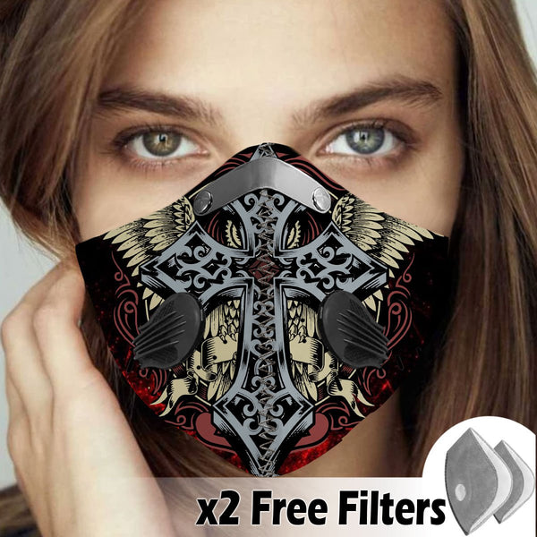 Activated Carbon Filter PM2.5 - Christian Mask 91