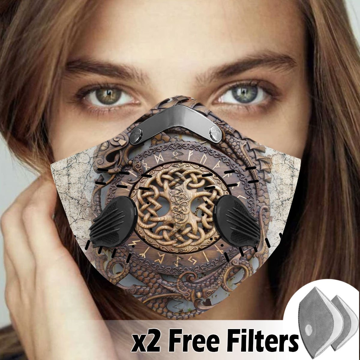 Viking Velcro Mask 103
