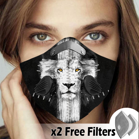 Activated Carbon Filter PM2.5 - Christian Mask 003