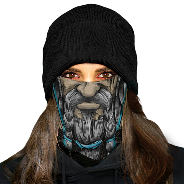Viking Mask Bandana 01