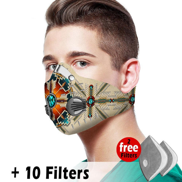 Activated Carbon Filter PM2.5 - Native Mask 01
