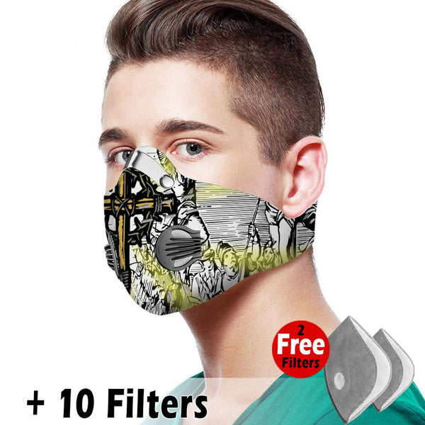 Christian Velcro Mask 039