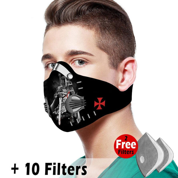 Activated Carbon Filter PM2.5 - Christian Mask 08
