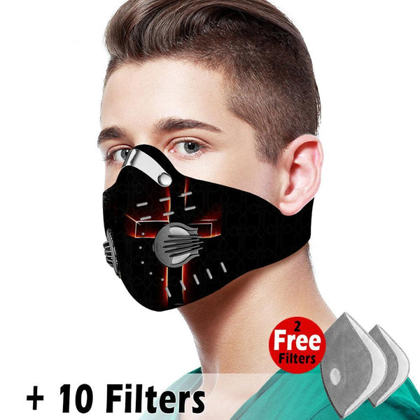 Christian Velcro Mask 009