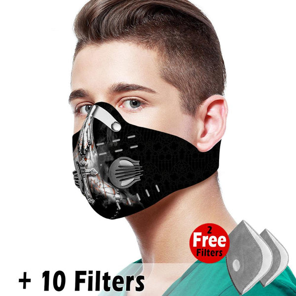 Christian Velcro Mask 047