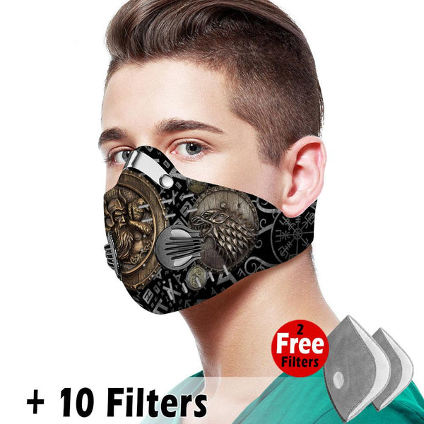 Viking Velcro Mask 047