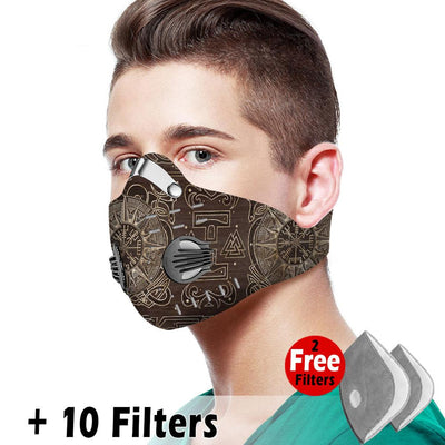 Viking Velcro Mask 014