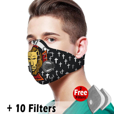 Christian Velcro Mask 046