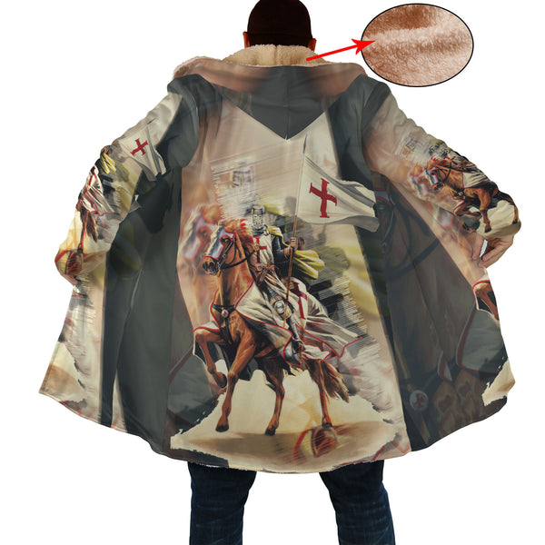 Charming Knight on Horse Cloak