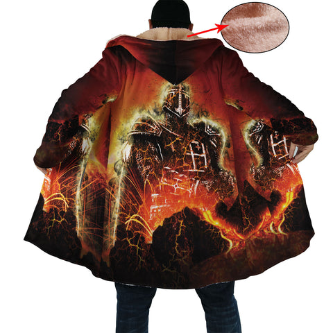 Amazing Flaming Knight Cloak