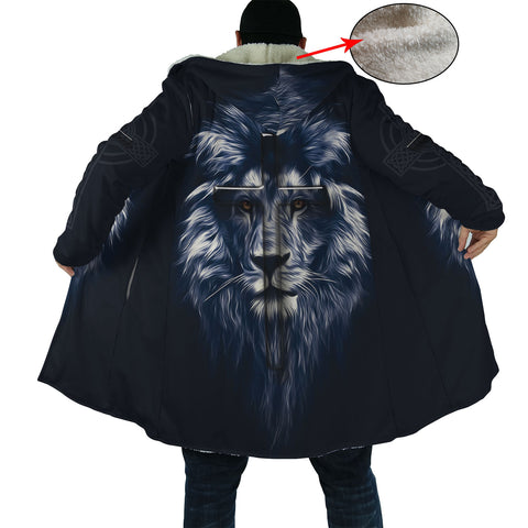 Dark Blue Lion