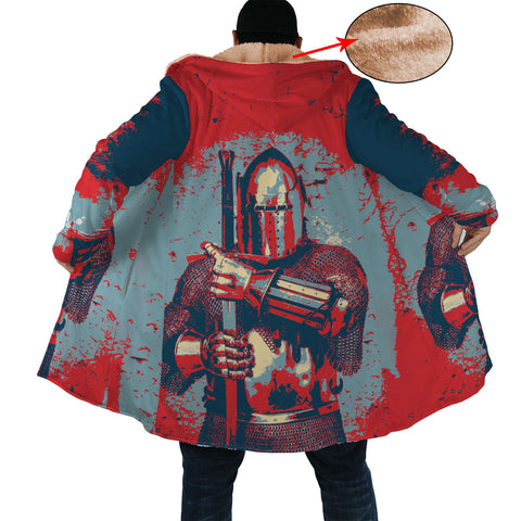 Cool Pop Art Knight Cloak